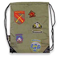 Call of Duty WWII - Division Patches Drawstring Bag