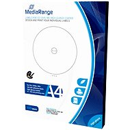 MediaRange CD/DVD/Blu-ray Labels 15mm - 118mm white, high glossy