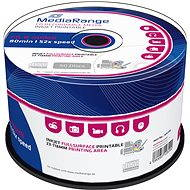 MediaRange CD-R Inkjet Printable 50ks CakeBox