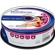 MediaRange CD-R Audio 25ks CakeBox