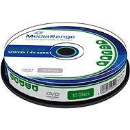 Mediarange DVD-RW 10p cakebox - Media