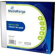 MediaRange DVD-R 5ks v SLIM krabičce - Média