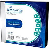 MediaRange DVD+R Double Layer 5 ks v SLIM škatuľke - Médiá