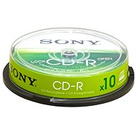 Sony CD-R 10ks CakeBox