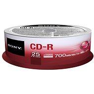 Sony CD-R 25ks cakebox - Média