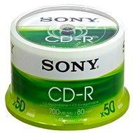 Sony CD-R 50ks cakebox bulk - Média