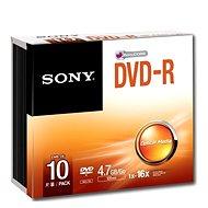 Sony DVD-R 10pcs in SLIM box - Media