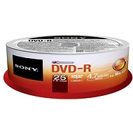 Sony DVD-R 25ks CakeBox