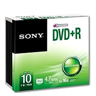 Sony DVD + R SLIM 10pcs in a carton