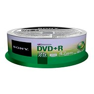 SONY DVD+R 25pcs cakebox