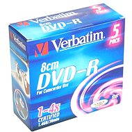 Verbatim DVD-R 4x, MINI 8cm 5pcs in SLIM box