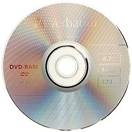Verbatim DVD-RAM 3x, 3pcs in SLIM box