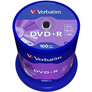 Verbatim DVD + R 16x, 100 cakebox