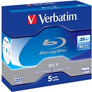 Verbatim BD-R 25GB 6x, 5pcs in box - Media