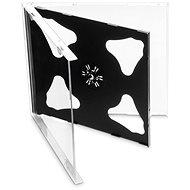 Krabička na 2ks - černá, 10mm, 10ks/bal - Obal na CD