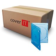Krabička na 2ks Blu-ray média modrá - Obal na CD/DVD