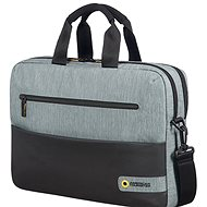 "American Tourister CITY DRIFT LAPTOP BAG 15.6"" BLACK/GREY - Brašna na notebook"