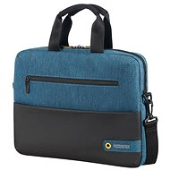 "American Tourister CITY DRIFT LAPTOP BAG 13.3""-14.1"" BLACK/BLUE - Brašna na notebook"
