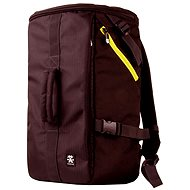 Crumpler Track Jack Barrel Backpack deep brown