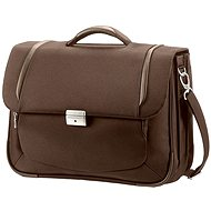 "X'Blade Samsonite Business Briefcase 2.0 2 Gusset 16 ""braun"