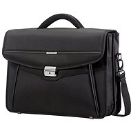Samsonite Desklite Briefcase 2 gussets 15.6 '' Black - Taška na notebook