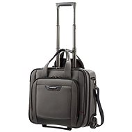 "Samsonite PRO-DLX 4 Rolling Tote 16.4"" Magnetic Grey"