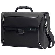 "Spectrolite Samsonite Briefcase 2 gussets 16 ""black"