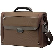 "Spectrolite Samsonite Briefcase 2 gussets 16 ""Brown"