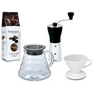 Hario mill + Hario Dripper + Intenso coffee - Gift Set