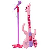 Hey Music! Dětská kytara + mikrofon - Hudební hračka