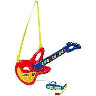 Hey Music! Dětská kytara + brýle s mikrofonem - Hudební hračka