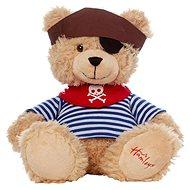 Hamleys Méďa Pirát 27 cm - Plyšová hračka