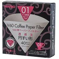 Hario V60 paper filters - 01 40pcs