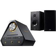 Creative Sound Blaster X 7 + E-MU XM7 Bookshelf Speakers