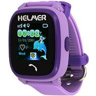 Helmer LK 704 fialové - Dětské hodinky