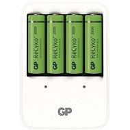 GP Powerbank PB420 + 4AA2500 - Ladegerät