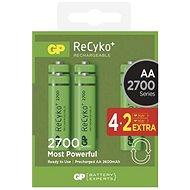 GP ReCyko HR6 (AA) 4 + 2 PC 2700mAh - Akumulatoren