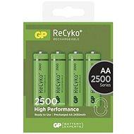 GP Recyko HR6 (AA) 2500mAh 4ks - Akumulátory
