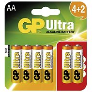 GP Ultra LR06 (AA) 4 + 2pcs in blister - Battery