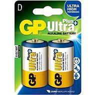 GP Ultra Plus LR20 (D) 2pcs in a blister