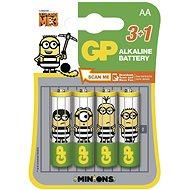 GP Minion LR6 (AA) 3 + 1pcs in blister - Battery