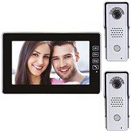 Emos Sada domácího videotelefonu s pamětí H1018 + Emos Kamerová jednotka antivandal - Videotelefon