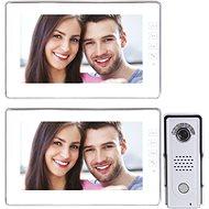 Souprava videotelefonu s pamětí EMOS H1019 s přídavným monitorem H1119 - Videotelefon