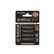 Panasonic eneloop AA NiMH 2450mAh for 4 pieces