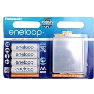 Panasonic eneloop AA 1900mAh 4ks + case