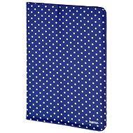 Hama Polkapunktes blau mit weißen Punkten