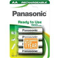 Panasonic Ready to Use AA HHR-3MVE/4B1 1900 mAh 3+1 ZDARMA