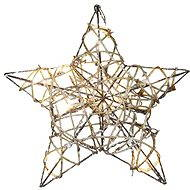 Emos 10 LED Xmas Rattan Star IP20