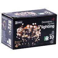 Emos 100 LED Xmas NANO WIRE - Vánoční osvětlení
