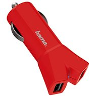Hama Color Line USB 3.4A AutoDetect rot